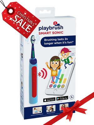 Playbrush Smart Sonic XMAS GIFT Electric Bluetooth Toothbrush Signal for kids