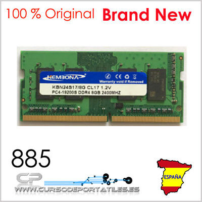 1 Units Memory RAM DDR4 8G 2400MHZ PC4-19200 HP Compaq Pavilion Brand New