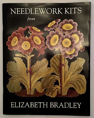 Needlework Kits from Elizabeth Bradley Catalog Victorian Flowers Animals 1992
