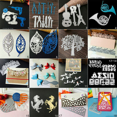 Leaf Frame DIY Cutting Dies Metal Stencil Scrapbooking Album Paper Card Tools