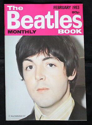 The Beatles Monthly Book Febuar 1983