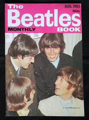 The Beatles Monthly Book August 1983