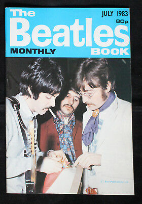 The Beatles Monthly Book Juli 1983