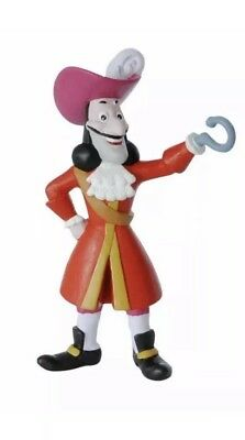 Official Bullyland Disney Jake And The Neverland Pirates Figure - Captain Hook