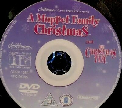 A MUPPET FAMILY CHRISTMAS DVD full movie RARE + The Christmas Toy Uncut Unedited