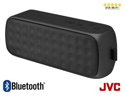 JVC SP-AD70-B Portable Wireless Bluetooth Party Speaker System - Black