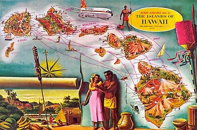 """Aloha Airlines BOEING 737-200 ((16""""x20"""")) Print"""