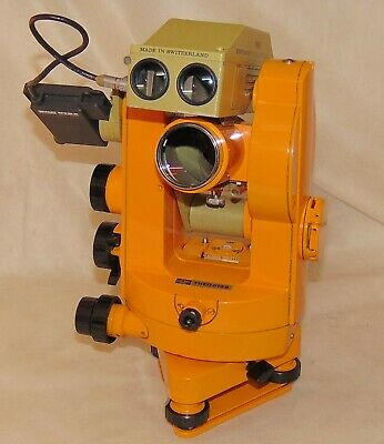 Carl Zeiss Jena Theodolite Theo 010 B + DISTOMAT DI1000, Wild Heerbrugg + prisms