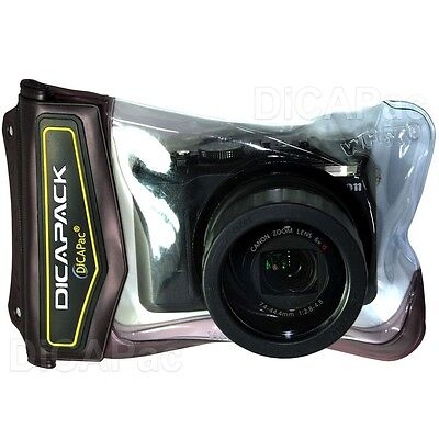 DiCAPac WP-570 Waterproof Camera Case For G15 G16 A610 A620 A650 SX270HS SX280HS