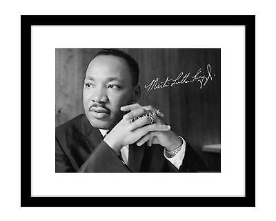 Martin Luther King Jr 8x10 Signed Photo MLK Picture Autographed