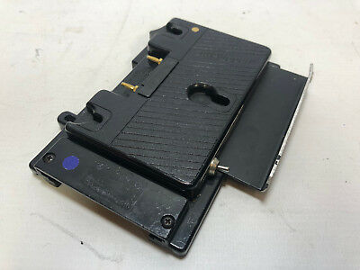 Anton Bauer to V mount adapter plate with D tap