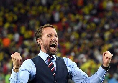"""Gareth Southgate England football World Cup 2018 12""""x8"""" photograph picture print"""