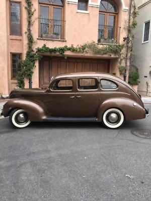 1938 Ford Model 81A De Luxe Sedan  1938 Ford DeLuxe Sedan Model 81A-Beautiful California Rust Free Example