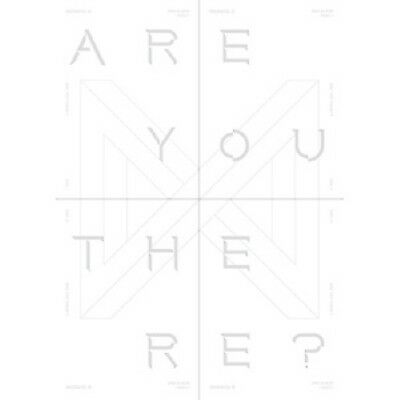 [Monsta X] 2nd Album TAKE.1 - ARE YOU THERE? CD+Poster+PhotoBook+M.Book+Card
