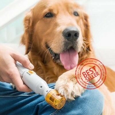Premium Painless Nail Clipper for Pets - All Size Dogs & Cats Electric Pedi Paw