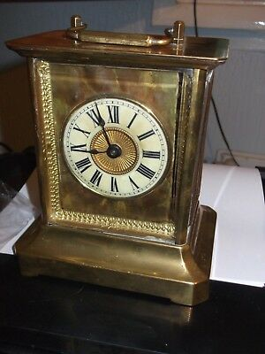 Musical Alarm Clock Junghans Of Wurtenberg 1890-1910 30 Hour Movement With Doc
