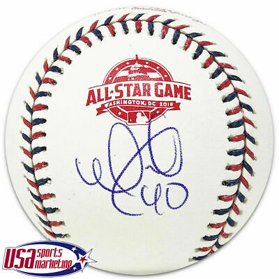 9edd221f062 Cubs Willson Contreras Signed Autographed 2018 All Star Game Baseball JSA  Auth