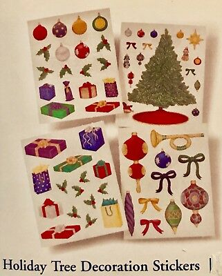 RARE! NLA Creative Memories Sticker Pack NEW! NIP Holiday Tree Decorations Pack