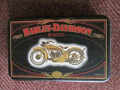 Harley-Davidson Playing Cards in Collectible Tin