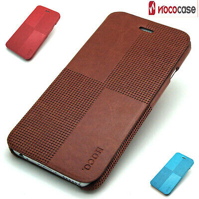 Case for iPhone 6S 6 Luxury Slim Shockproof Leather Flip Protective Wallet Cover