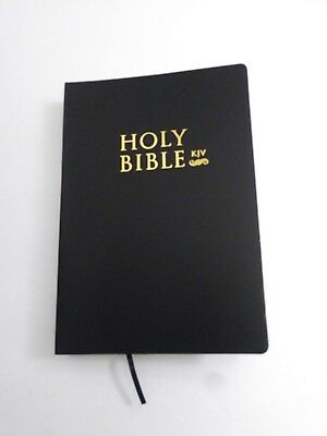 The Holy Bible King James Version Old & New Testaments Black Gift