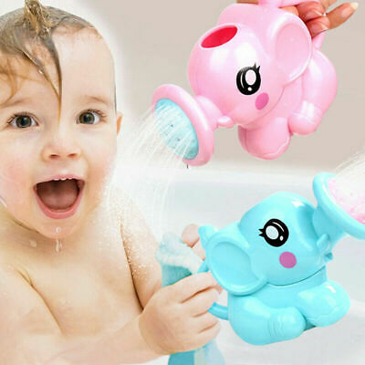 2 Pcs Children Kids Baby Swimming Bath Toys Cute Elephant Watering Pot Showering