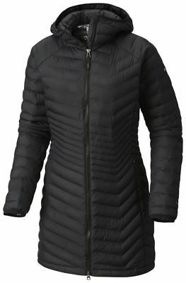 COLUMBIA Powder Lite WK0034010 Insulated Warm Down Parka Jacket Hooded Womens