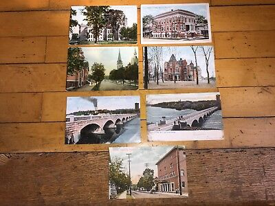 Seven Early 1900's Appleton Wisconsin Post Cards