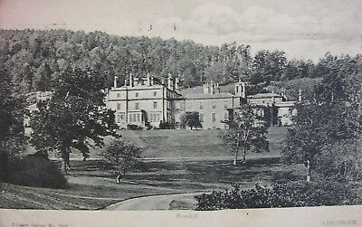 Bowhill Near Selkirk 1909 Pc
