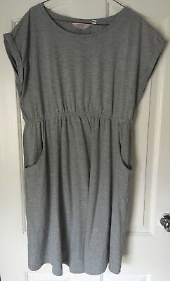 Dorothy Perkins Maternity Grey Dress Size 14