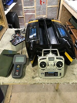 Angling Technics Microcat With Graphic Fish Finder Echo Sounder