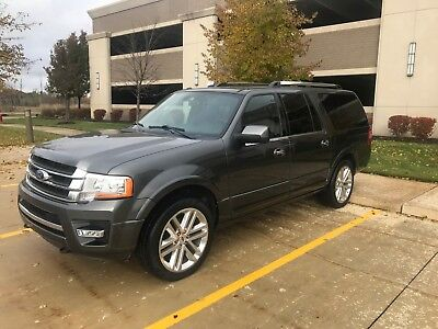 2015 Ford Expedition EL Limited Must See!!! One Owner!  Well Maintained!!
