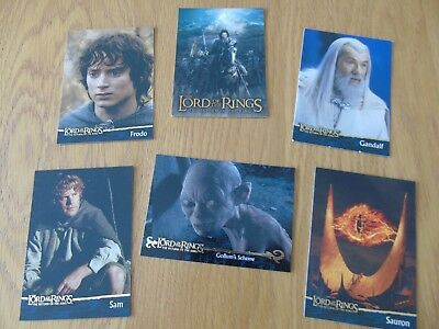 90 topps trading cards lord of the rings return of the king