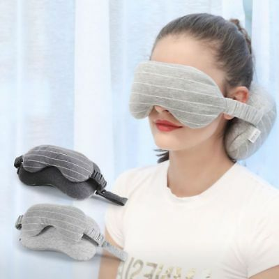 Portable Travel Mask And Pillow Neck Eye Support Sleep Soft Inflatable Ear Head