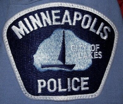 """Minneapolis Minnesota Police Patch City of Lakes MN Mpls 5""""x4"""""""