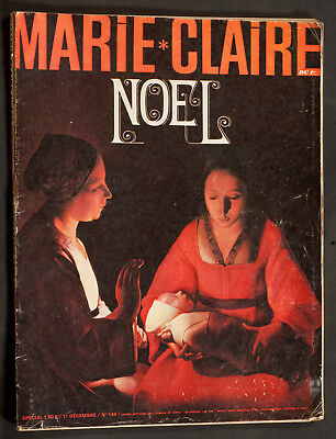 'marie-Claire' French Vintage Magazine Christmas Issue 1 December 1965