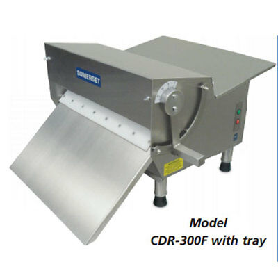 """Somerset CDR-300F Fondant Dough Sheeter, 1/2 HP, 15"""" Synthetic Rollers, 500 - 60"""
