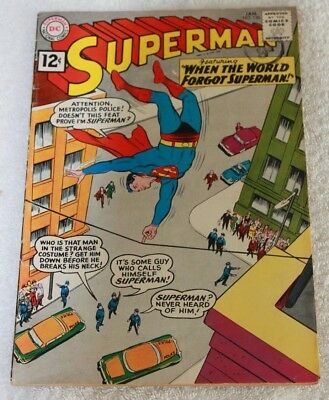 SUPERMAN  No.150....JAN  1962...NATIONAL  PERIODICAL...A  NICE  CLEAN  COMIC