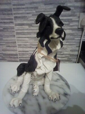 """A Breed Apart Country Artists ' Squiffy ' Border Collie Black / White 10"""" VGC"""