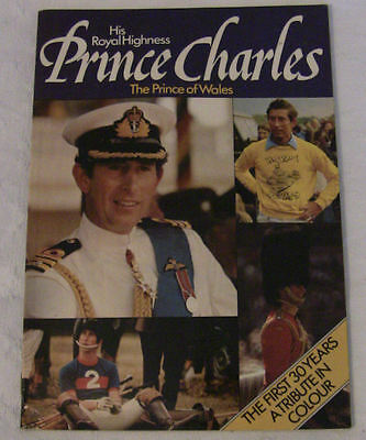 His Royal Highness Prince Charles - His First 30 Years - Tribute in Colour