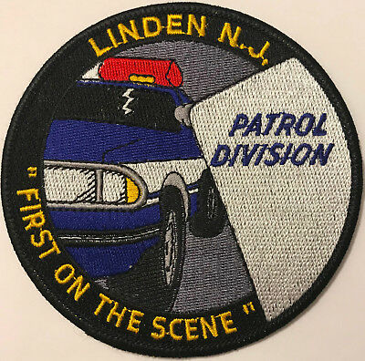 Linden Patrol Division New Jersey Police Patch
