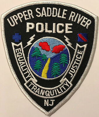 Upper Saddle River New Jersey Police Patch