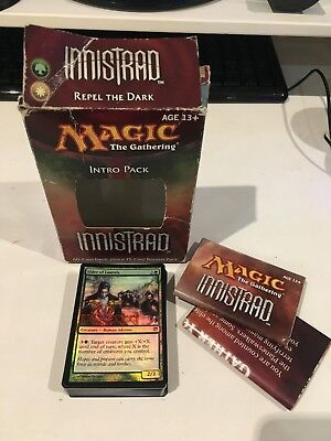 Innistrad Repel The Dark 60 Card Intro Pack Deck MTG Magic Gathering White Green