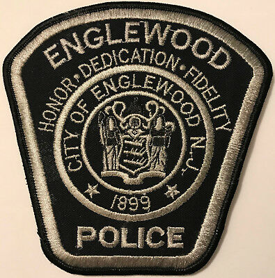 Englewood New Jersey Police Patch