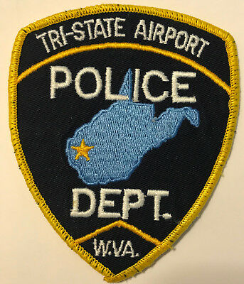 Huntington Tri State Airport West Virginia Police Patch