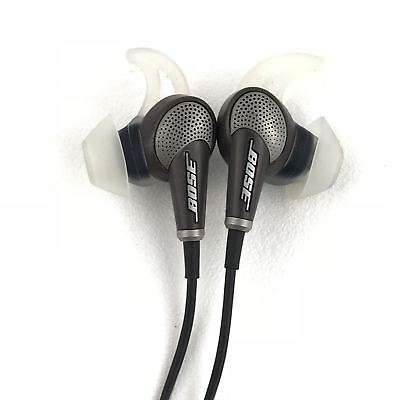 Bose QuietComfort 20 Android Noise-Cancelling Earphones Earbuds QC20 - Black