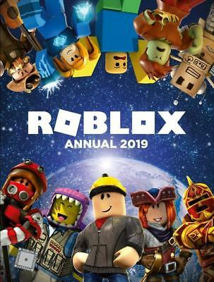 Roblox Annual 2019 Hardcover Book From The World'S Most Popular Gaming Site
