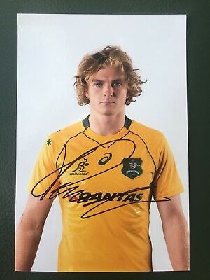 Joe Powell - Australia Rugby Player Signed 6x4 Photo