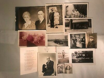 Pasley-Knight-Snively Family Vintage Antique Photos, Lot of 13 (Indiana)