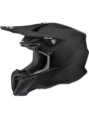Airoh Matt schwarz Twist Colour MX Helm
